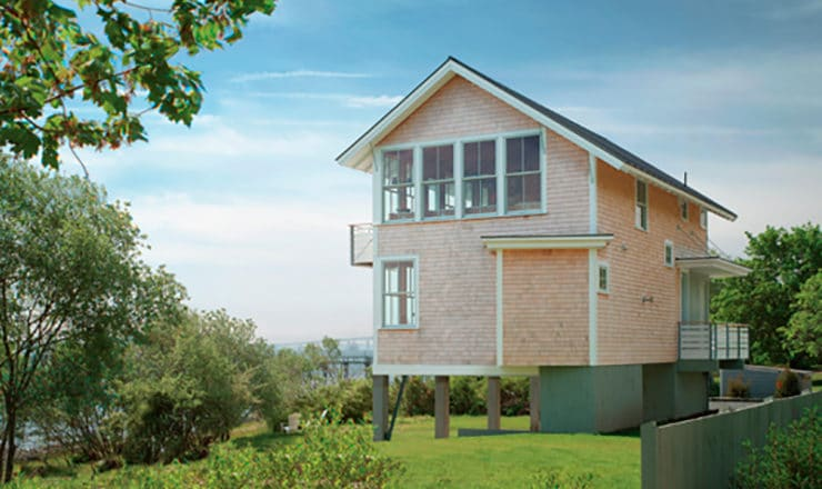 Osprey House casa de madera prefabricada