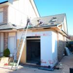 ampliación de garaje en casa de madera