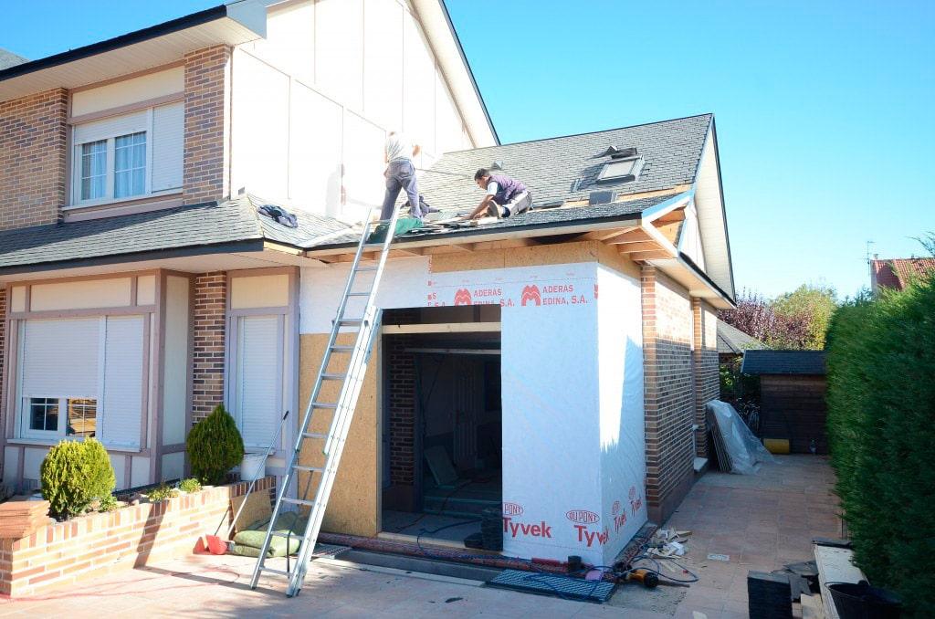 Reforma y ampliaci n de casa de madera tudor canexel for Ideas para reformar una vivienda
