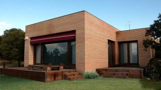 Galer a de casas de madera canexel - Casas canadienses canexel ...