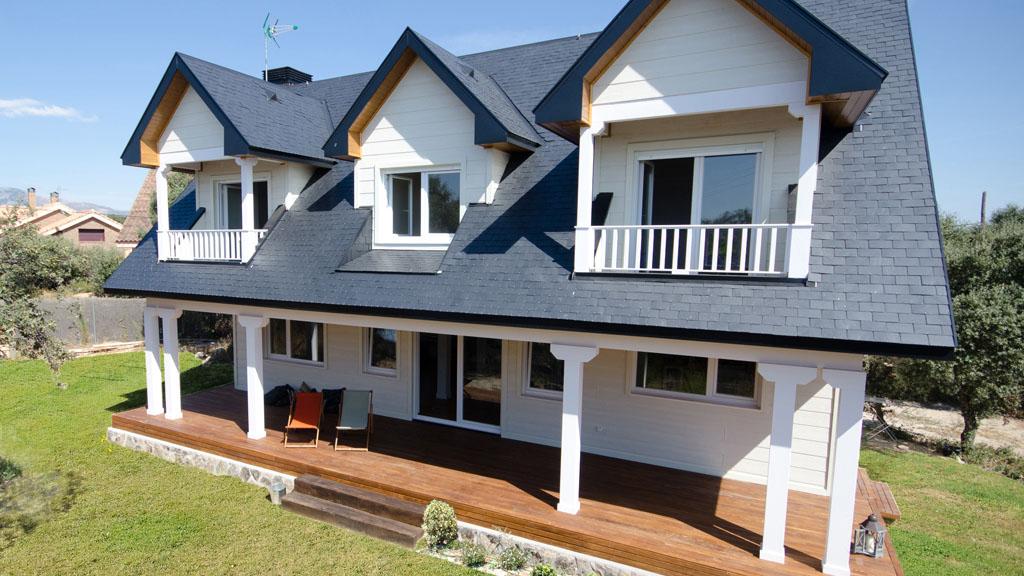 Casa iqaluit estilo canadiense - Casas de madera canadiense ...