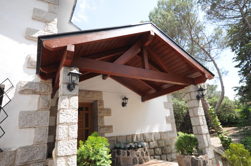 Porches de madera y cenadores - Madera para porches ...