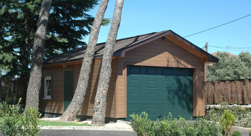 Garajes de madera canexel - Garajes prefabricados de madera ...