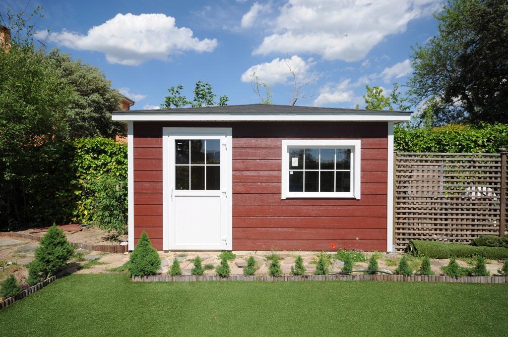 Casetas de jard n canexel construcciones for Casetas de jardin modernas