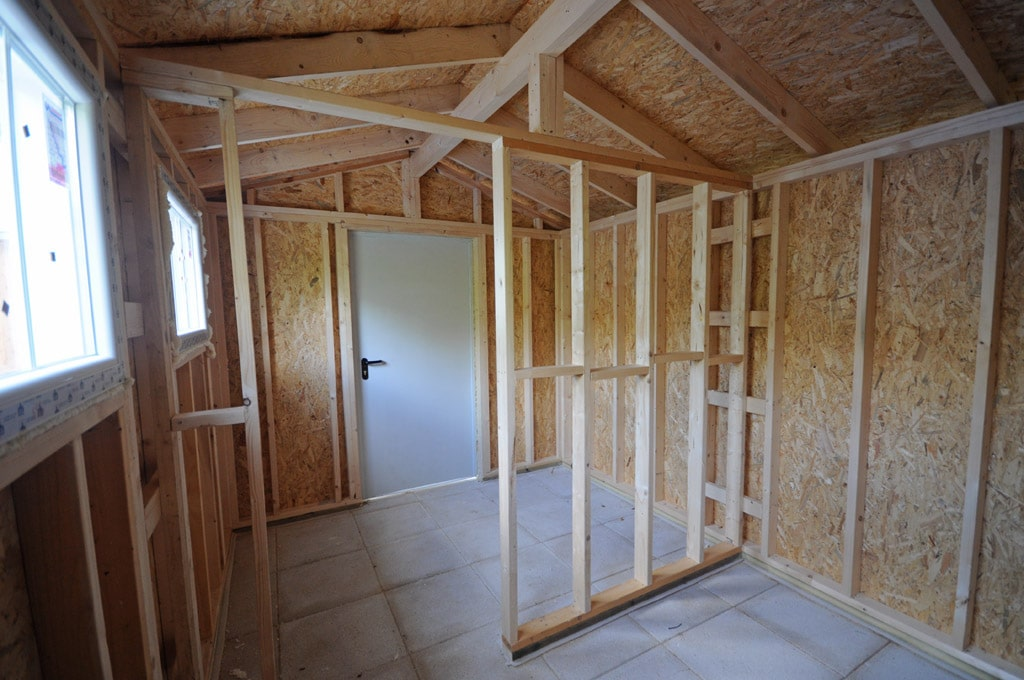 Casetas de jard n canexel construcciones - Tabiques de madera ...