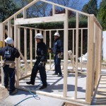 Estructura casas de madera