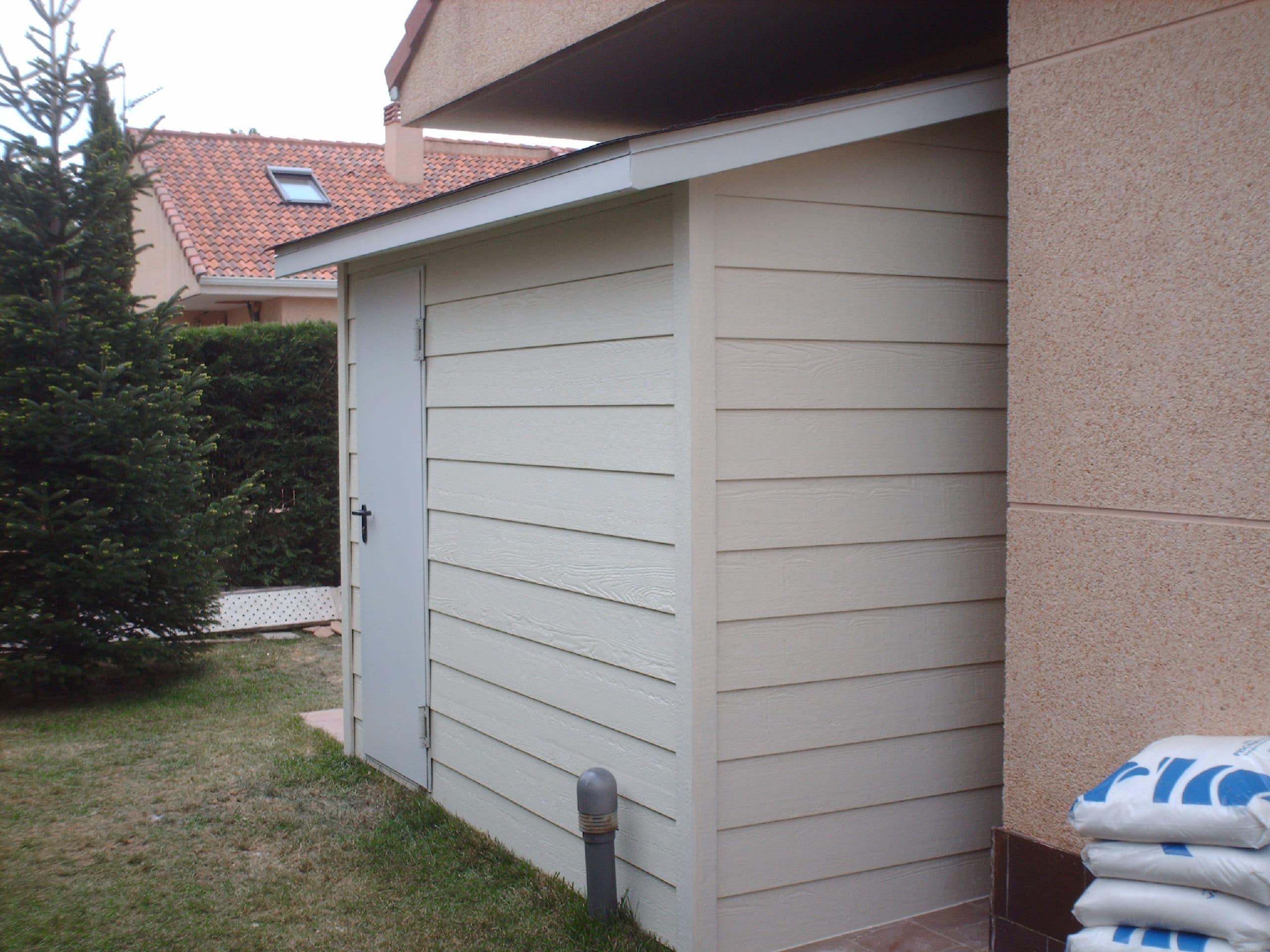 Casetas de jard n canexel construcciones for Caseta jardin pvc