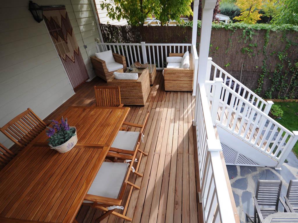 porches de madera y cenadores
