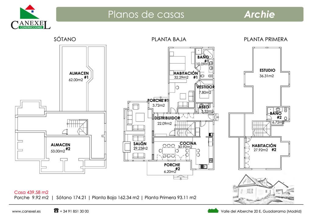 Casa archie fotos y plano distribuci n - Casas americanas planos ...