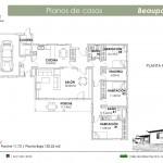 Plano Casa Beauport