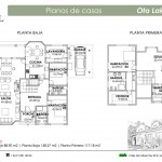 Plano Casa Ota Lake