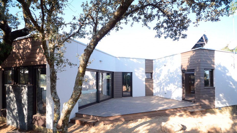 Casa accueil m casa moderna 91 m2 for Viviendas de una planta modernas