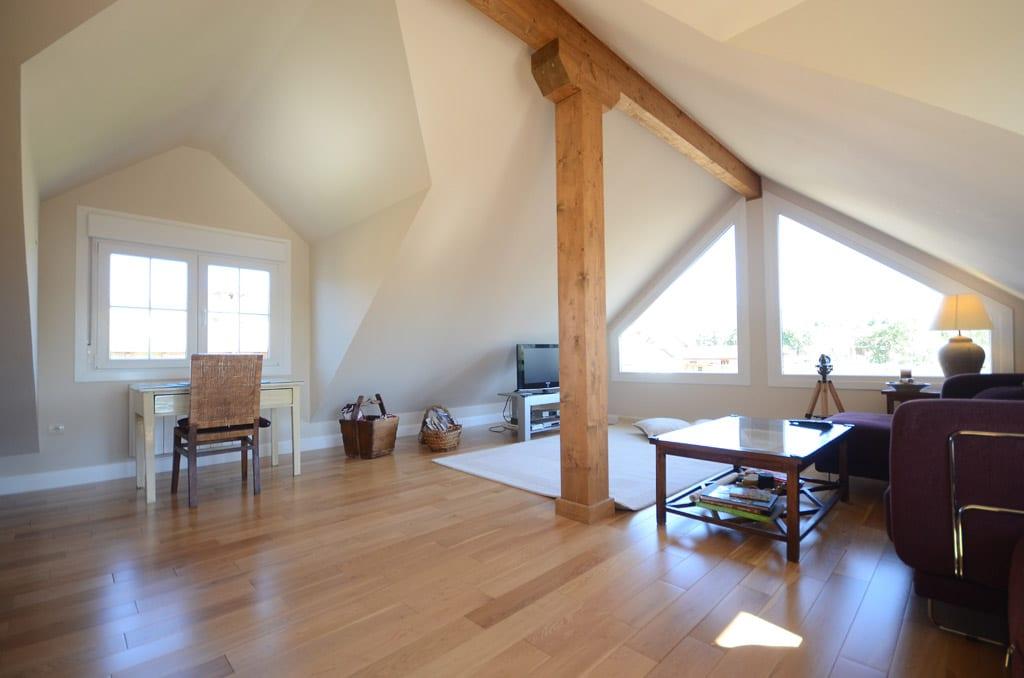 Casa archie fotos y plano distribuci n - Casas con buhardilla ...