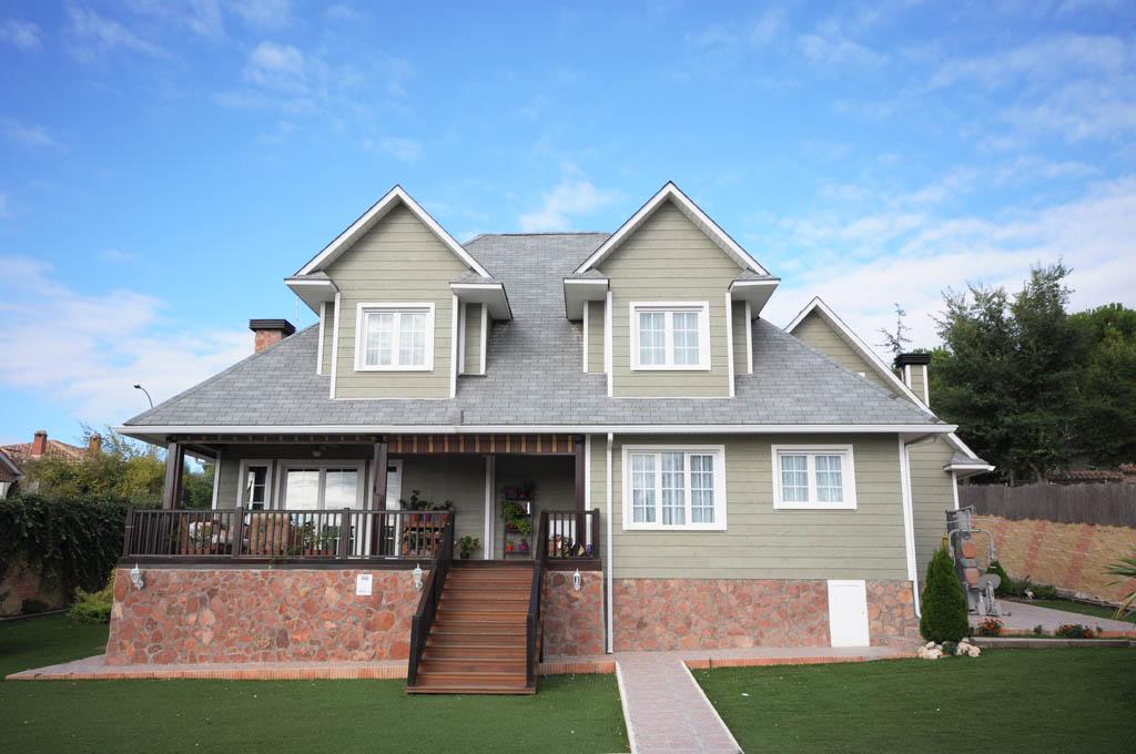 Casa vancouver canexel for Casas de madera estilo americano