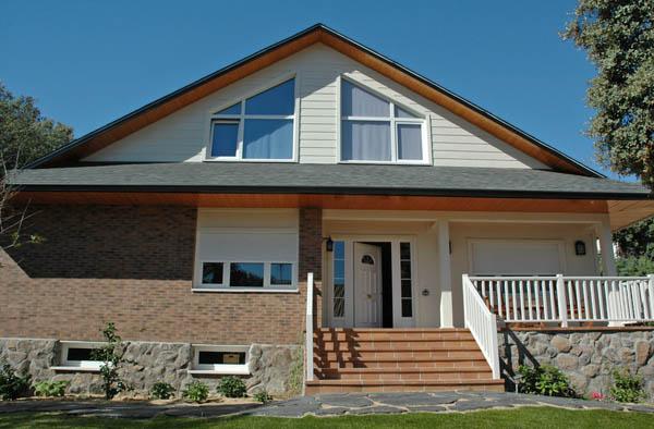 Casa yukon canexel for Casas americanas de madera