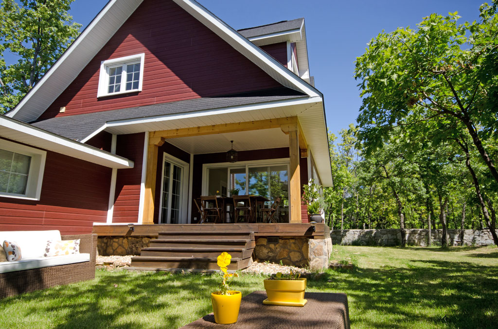 Casa shenandoah for Casas de madera canadienses