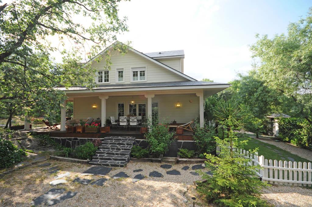 Casa ota lake canexel - Casa de madera jardin ...