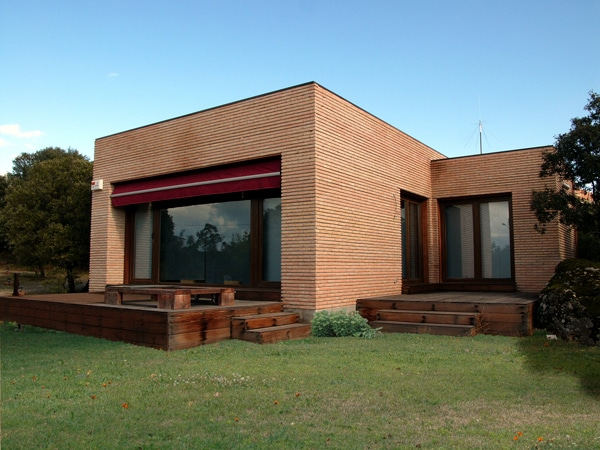Casa brandon canexel for Casa moderna ladrillo