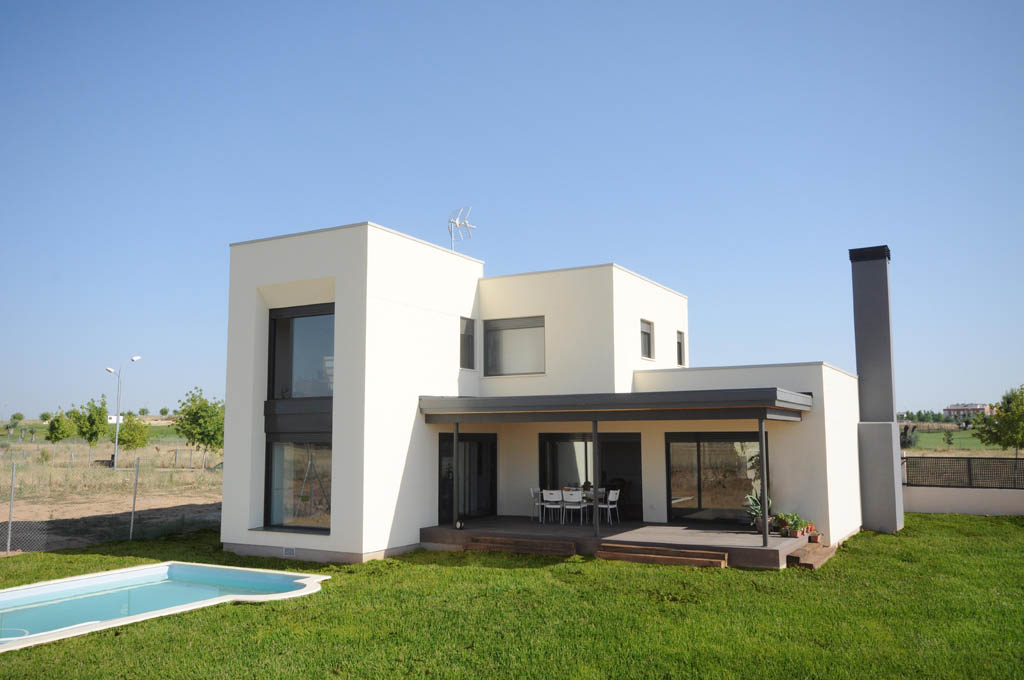 Casa moderna white rock 210m2 for Casas modernas un nivel