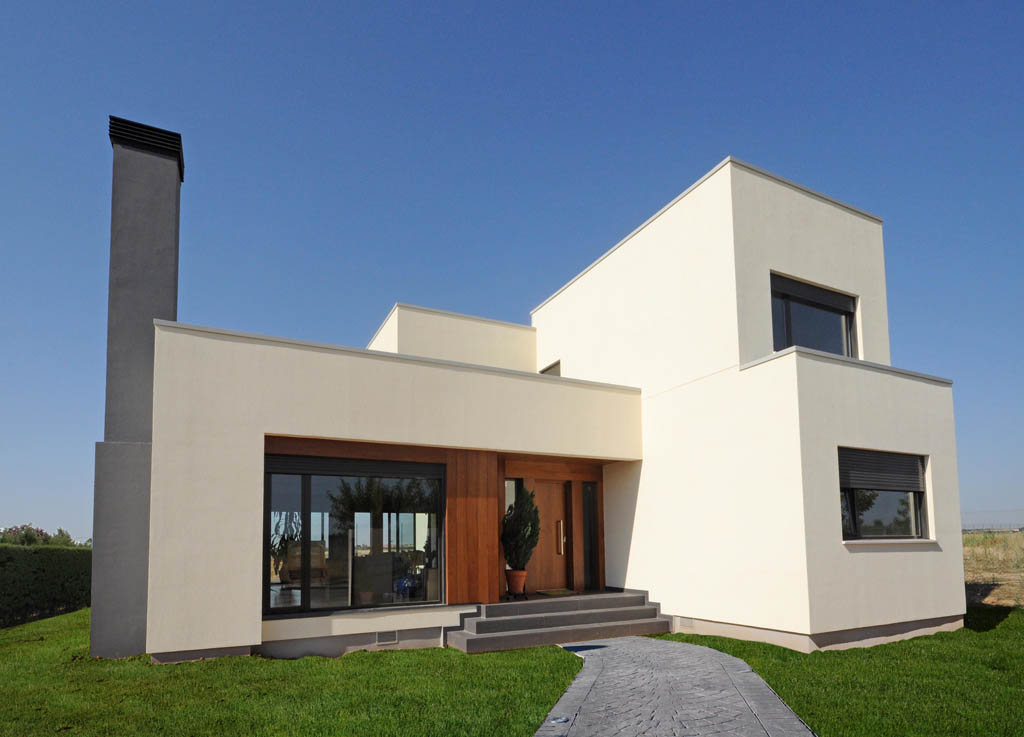 Casa moderna white rock 210m2 for Casas para construccion