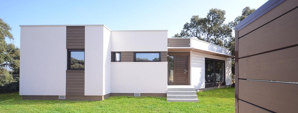 Dise os de casas minimalistas canexel for Decoracion de viviendas modernas