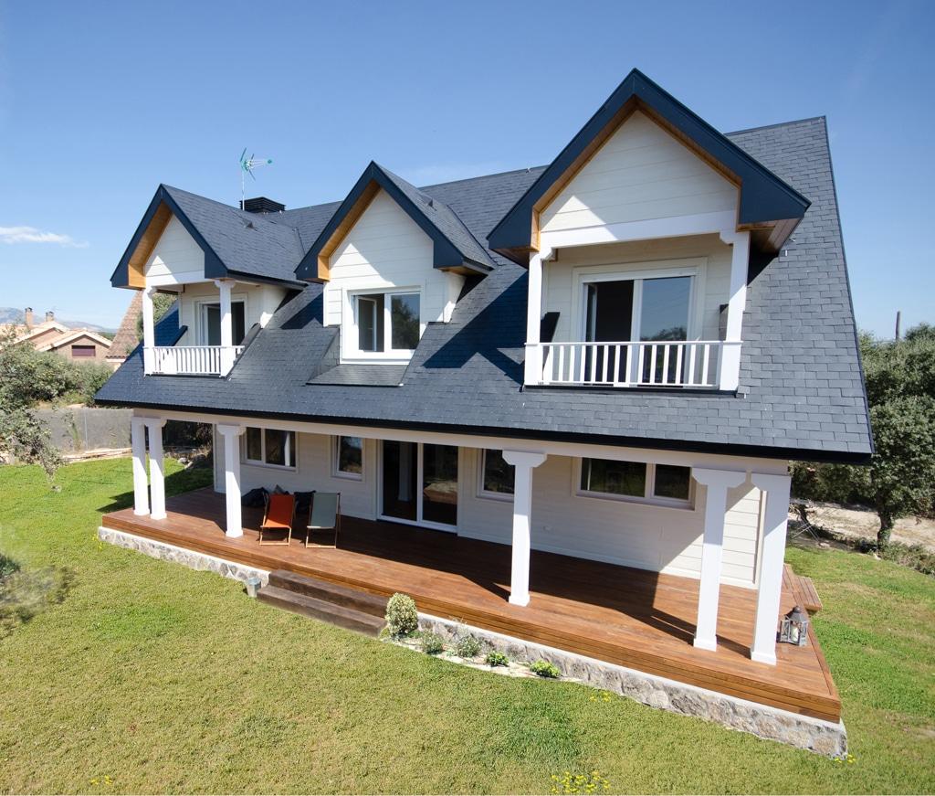 Casa iqaluit estilo canadiense - Casas de madera canadienses en espana ...