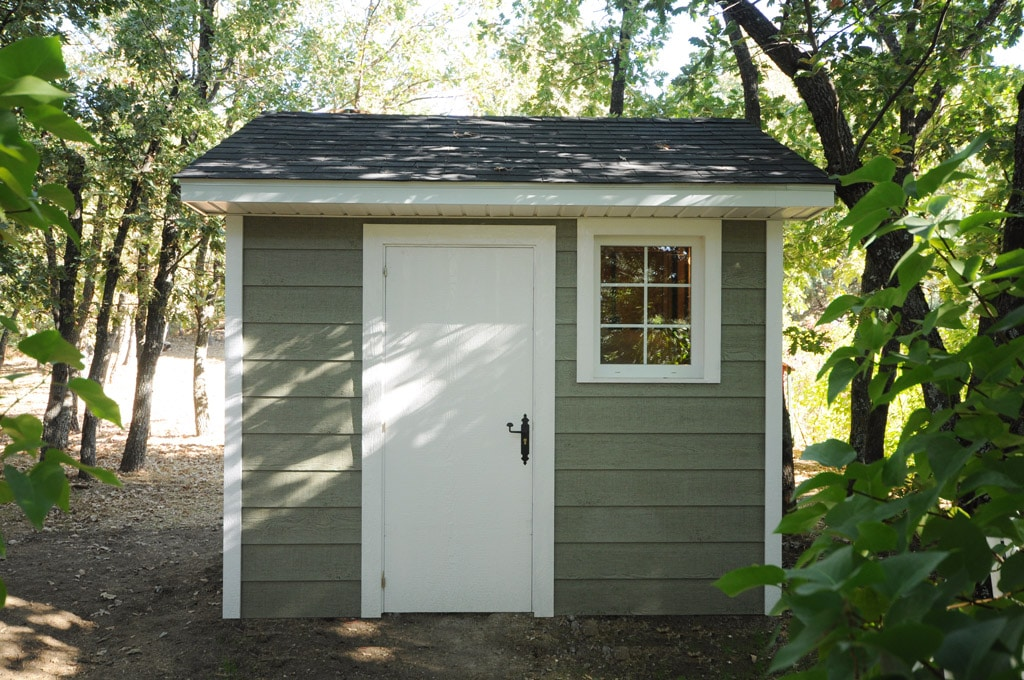Exteriorismo con madera for Casetas prefabricadas para jardin