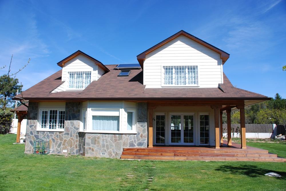 Casa winisk canexel - Casas de madera canadienses en espana ...