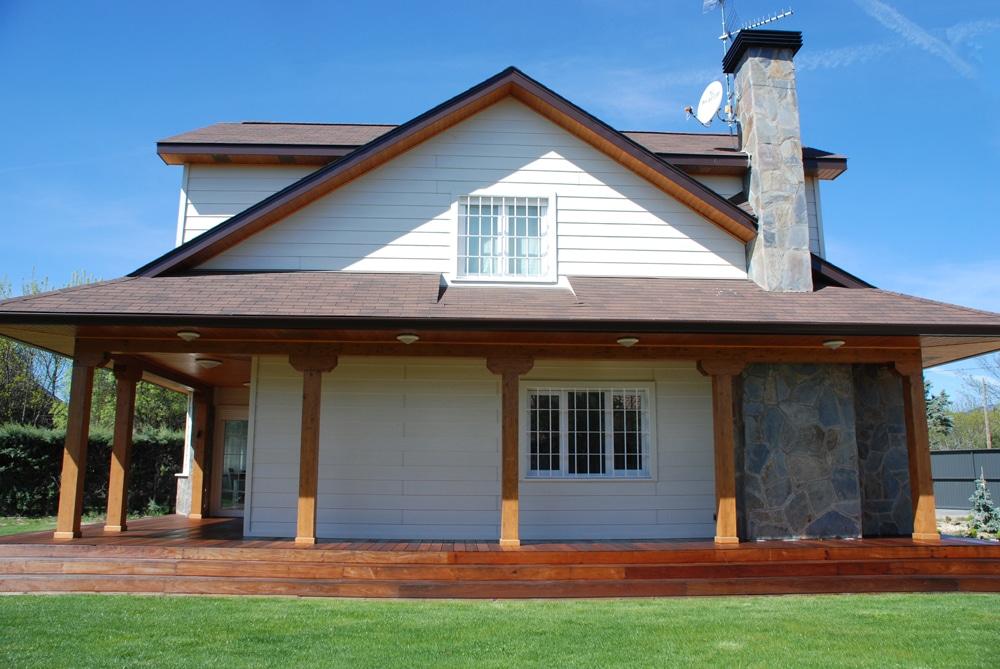 Casa winisk canexel for Disenos de porches de casas