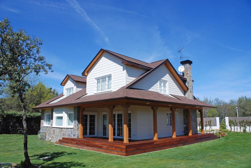 Casa winisk canexel - Chimeneas para casas de madera ...