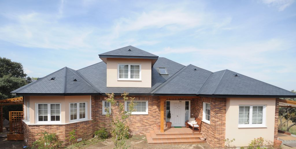 Casa jasper canexel - Chalet de madera y piedra ...