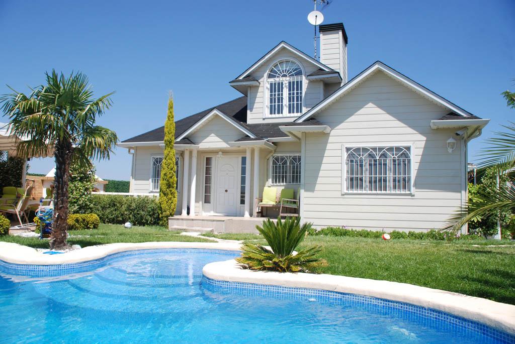 Casa berwick canexel - Casas de madera con piscina ...
