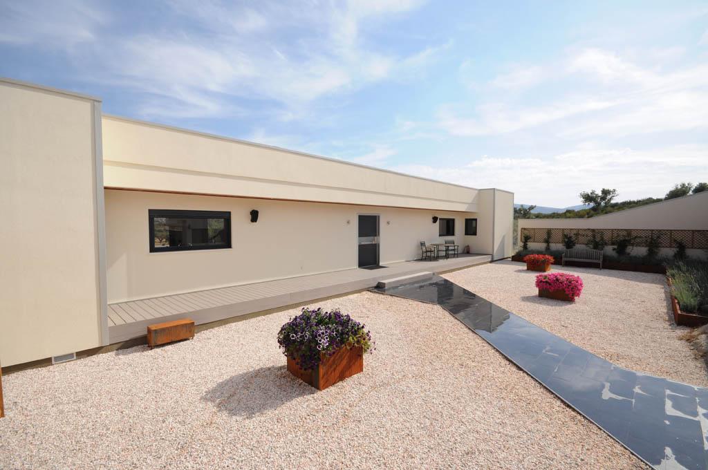 Dise os de casas minimalistas canexel - Entrada de casas modernas ...