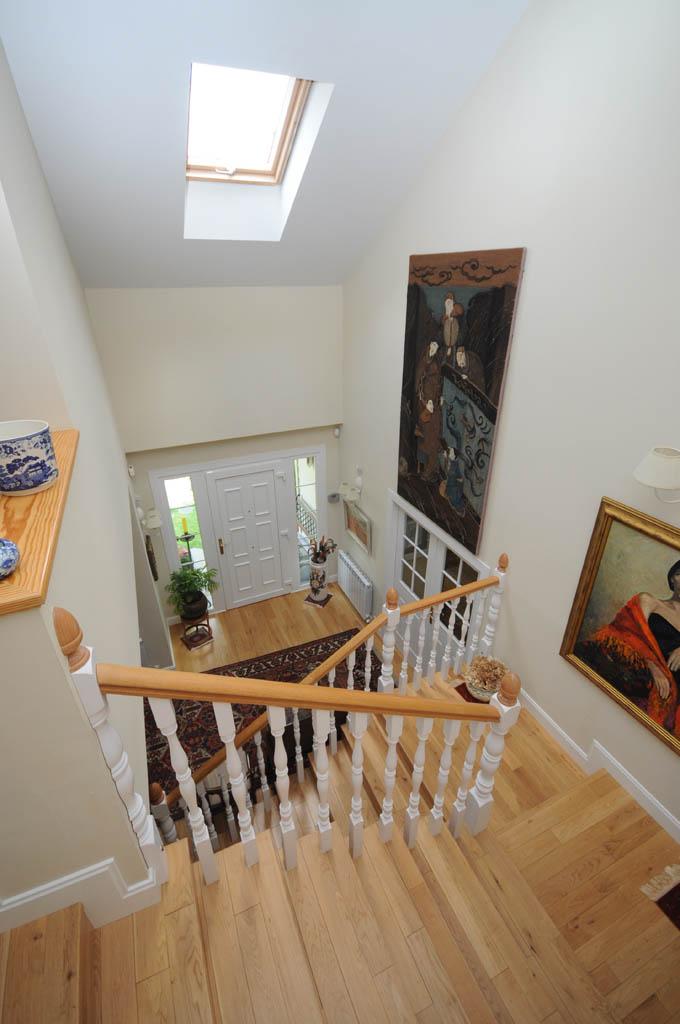 Casa ota lake canexel for Ver escaleras de casas