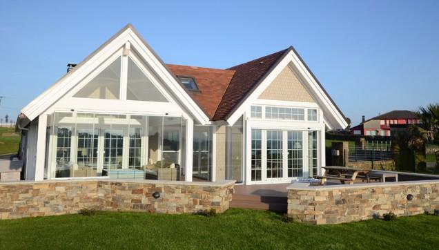 Cristal inteligente las ventanas para el verano canexel - Casas de madera canadiense ...