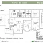 Plano Casa Rossland