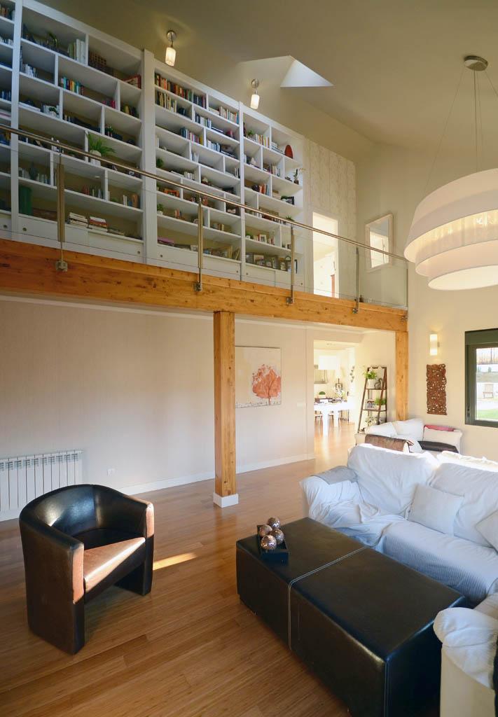 Casa prizma house canexel - Salon doble altura ...