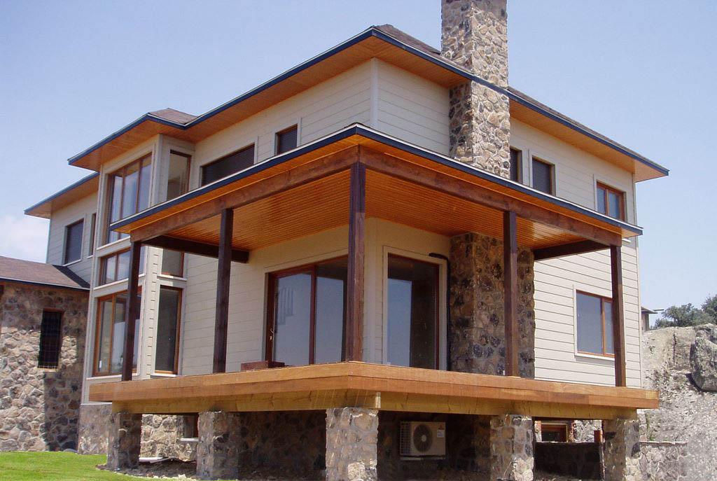 Casa melville canexel - Casas de madera canadiense ...