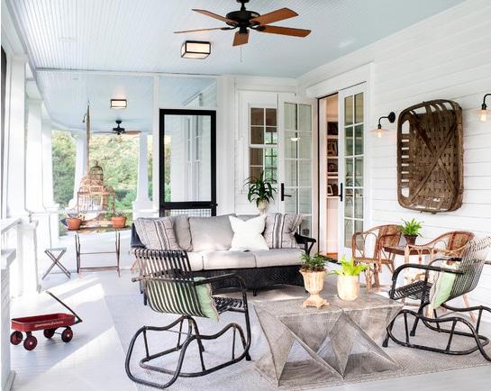 Ideas para dise ar un porche de entrada con encanto - Que es un porche en arquitectura ...