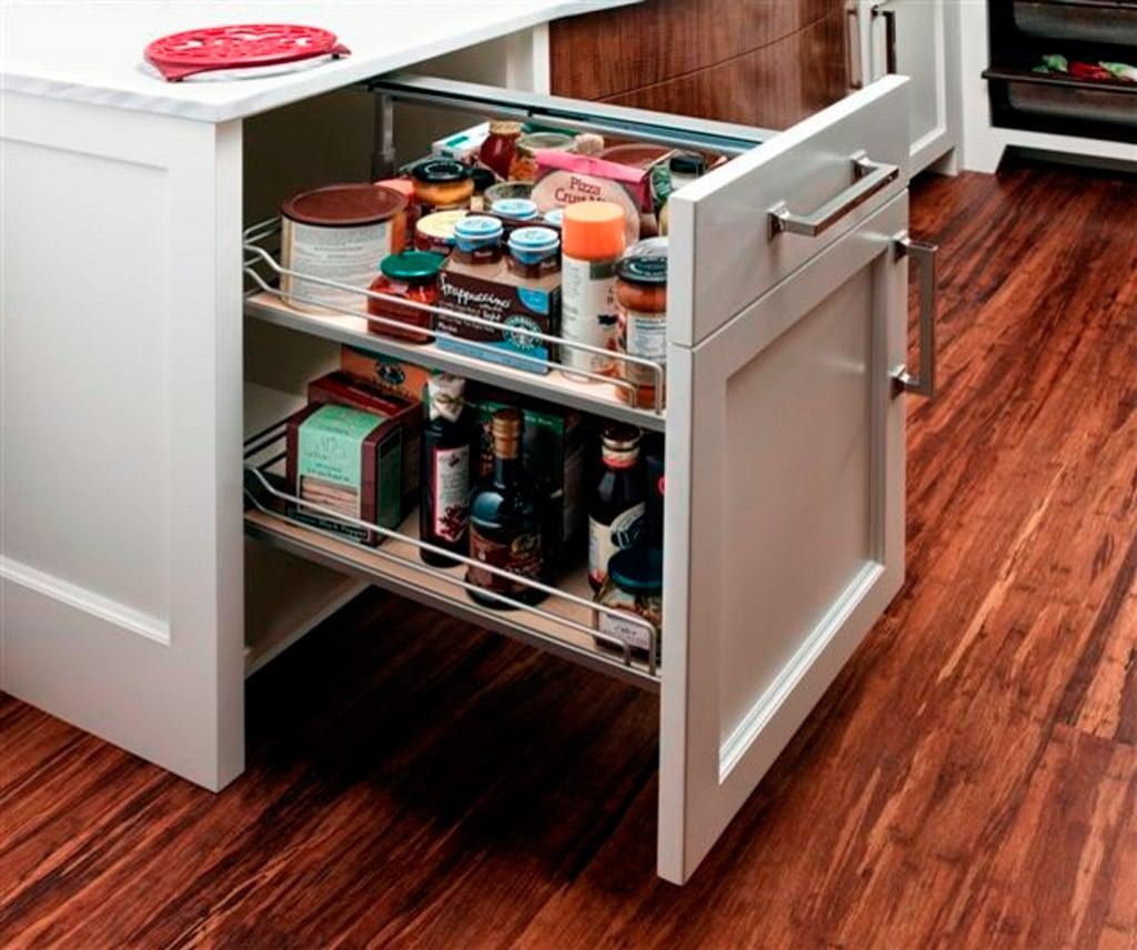Interiores de armarios de cocina for Accesorios para interiores de armarios de cocina