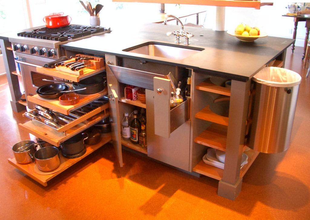 Ideas para mejorar tu cocina muebles y cajones canexel - Interiores de cajones de cocina ...