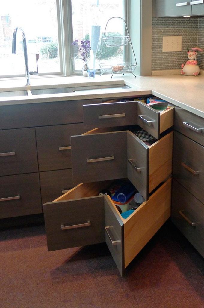 Muebles de cocina aereos esquineros ideas for Muebles de cocina esquineros