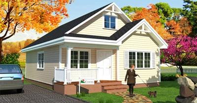 Casas predise adas essential canexel construcciones - Casas con buhardilla ...