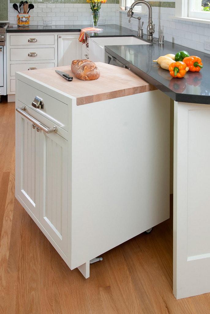 Ideas para mejorar tu cocina muebles y cajones canexel for Muebles de cocina moviles