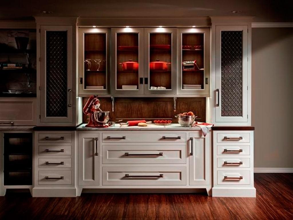 Ideas para mejorar tu cocina muebles y cajones canexel - Vitrina cocina ...