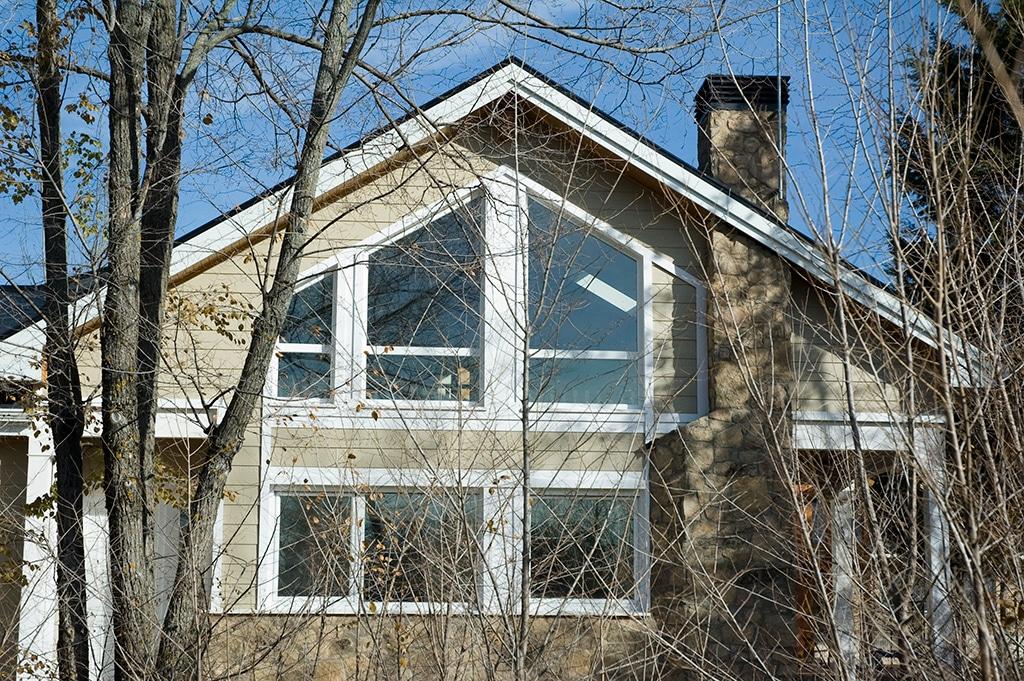 Casa adosada de estructura de madera canexel - Casas estructura de madera ...