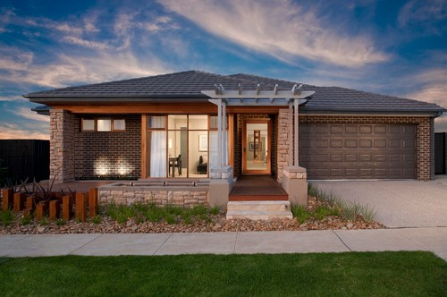 Bungalow casa peque a en una planta canexel - Fotos de bungalows de madera ...