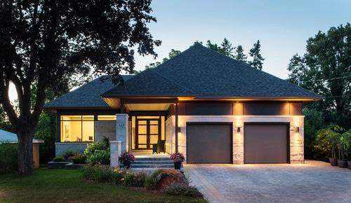 Bungalow casa peque a en una planta canexel for Concetto di design moderno bungalow