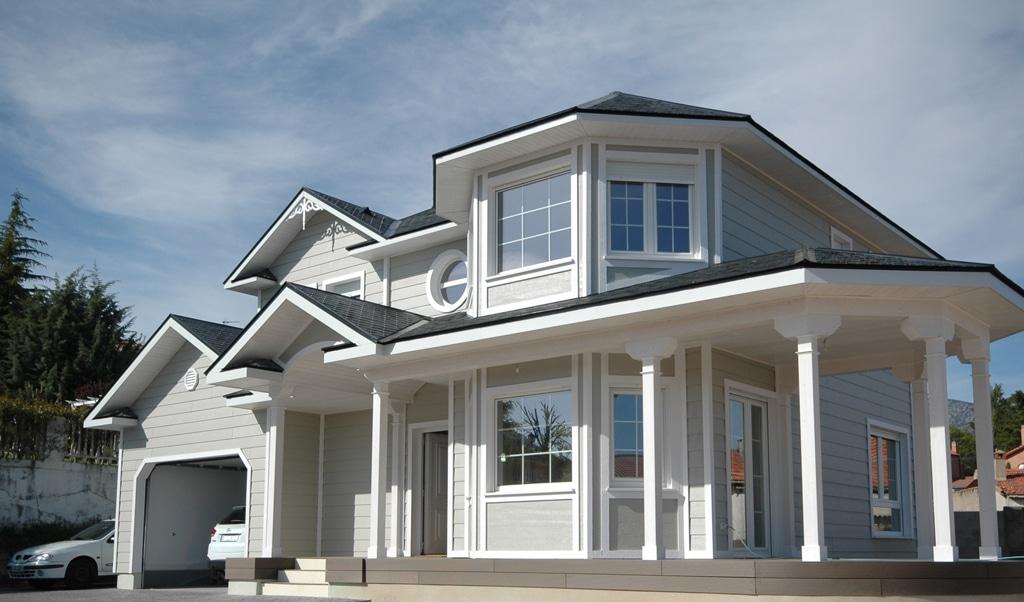 Casa whistler estilo casas victorianas - Molduras para ventanas exteriores casas ...