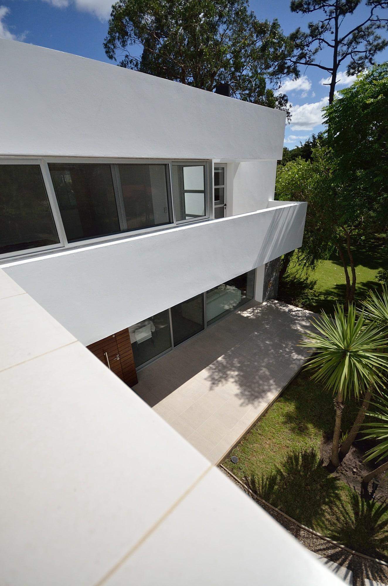 Fachadas de casas fachadas de casas pequeas de dos pisos - Casas de madera planos ...